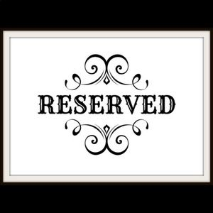 Reserved for CarmelStowers